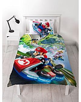 Mario Gravity Single Panel Duvet
