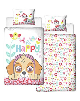 Paw Patrol Bright Single Panel Duvet