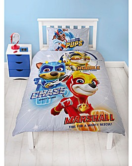 Paw Patrol Super Single Panel Duvet