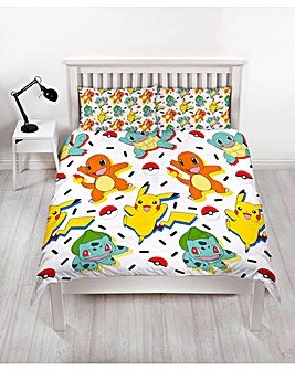 Pokemon Memphis Double Rotary Duvet