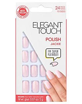 Elegant Touch Polished Nail Jackie