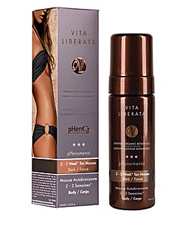 Vita Liberata pHenomenal Tan Mousse Dark 125ml