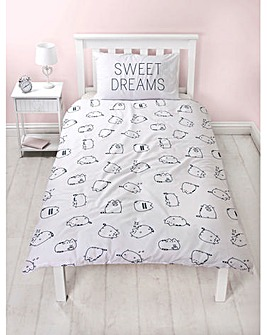 Pusheen Sweet Reversible Single Duvet