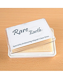 Rare Earth Ink Pad - Clear Glass