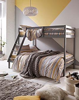 Munich Trio Bunk Bed with Mattress