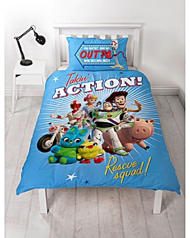 Toy Story Rescue Single Duvet Set