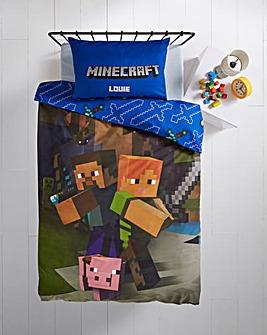 Minecraft Goodguys Personalised Duvet