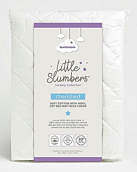 Little Slumbers Cotton Mattress Cover