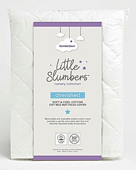 Little Slumbers Cotton Mattress Cover
