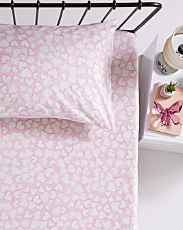 Heartbreaker 2pk Fitted Sheet