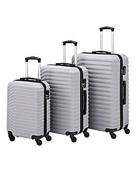 3 Piece Matte ABS Luggage Set