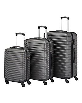 3 Piece Matte ABS Luggage Set