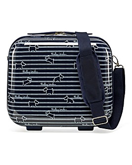 Radley Dog Stripe Vanity Case