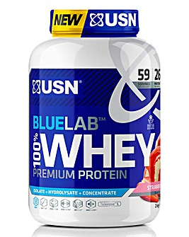 USN Blue Lab Whey Strawberry 2kg