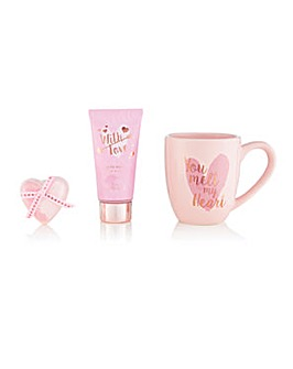 S&G With Love You Melt My Heart Mug Set