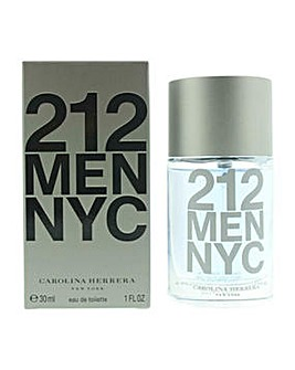 212 NYC Men edt spray 30ml