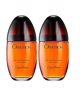 Calvin Klein Obsession 100ml Bogof