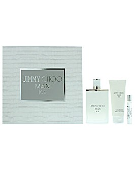Jimmy Choo Man Ice Eau De Toilette Gift Set For Him