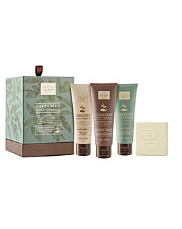 Scottish Fine Soaps Gardeners Hand Therapy Hand Wash Luxurious Gift Set