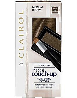Clairol 2.1g Root Touch Up Concealing Powder Medium Brown Hair Dye