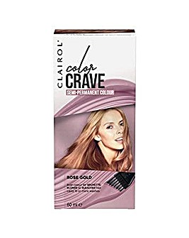 Clairol Color Crave 60ml Semi Permanent Hair Dye Rose Gold