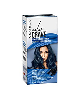 Clairol Color Crave 60ml Semi Permanent Hair Dye Indigo