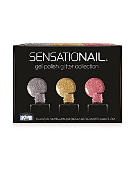 SensatioNail Gel Polish Glitter Collection