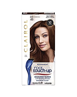 Nice n Easy Root Touch up Permanent Hair Dye Dark Auburn Reddish Brown