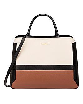 Fiorelli Halle Nero Stripe Grab Bag