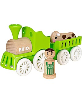 Brio Push-Along Farm Train Set