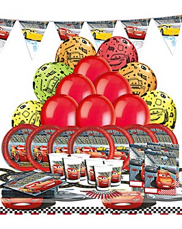 Cars 3 Ultimate Party Kit for 16