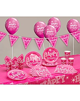 Sparkle Happy Birthday Party Kit