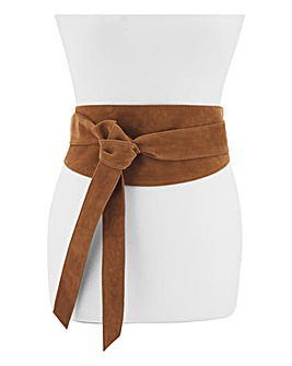 Soft Wrap Leather Belt