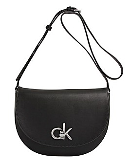 Calvin Klein Re Lock Saddle Bag