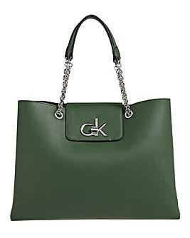 Calvin Klein Chain Tote