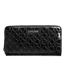 Calvin Klein Must Black Patent Purse