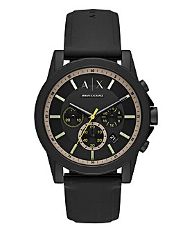 AX Gents Outerbanks Silicone Strap Watch