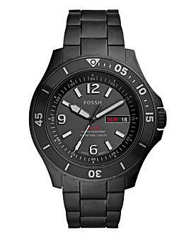 Fossil Gents FB-02 Black Bracelet Watch