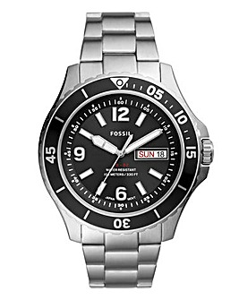 Fossil Mens Stainless Steel Watch