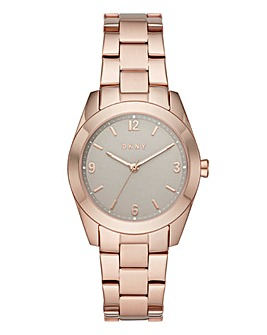 DKNY Ladies Nolita Bracelet Watch Rose