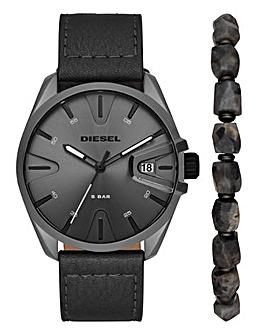 Diesel Mens M59 Watch & Bracelet Set