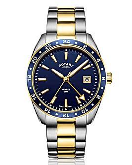 Rotary Gents Two Tone Bracelet Watch