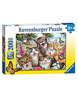 Friendly Felines XXL 200 Piece Puzzle