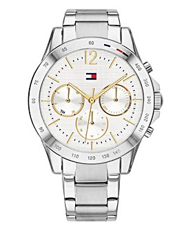 Tommy Hilfiger Ladies Silver Haven Watch