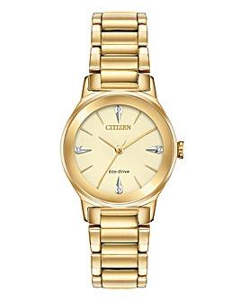 Citizen Ladies Eco Drive Diamond Watch