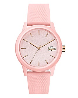Lacoste 12.12 Ladies Pink Silicone Watch
