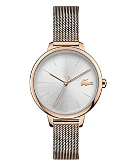 Lacoste Ladies Cannes Mesh Strap Watch