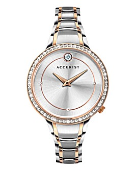 Accurist Ladies Pure Two Tone Watch