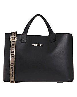 Tommy Hilfiger Iconic Tote Logo Strap