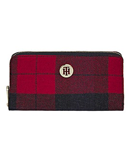 Tommy Hilfiger Honey Large Check Wallet